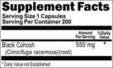 BUY 1 GET 2 FREE Black Cohosh 550mg 200 Capsules