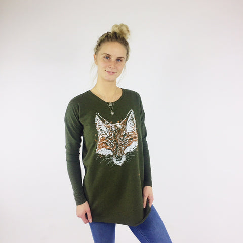 Ladies Crew Neck - Edmonton Crest
