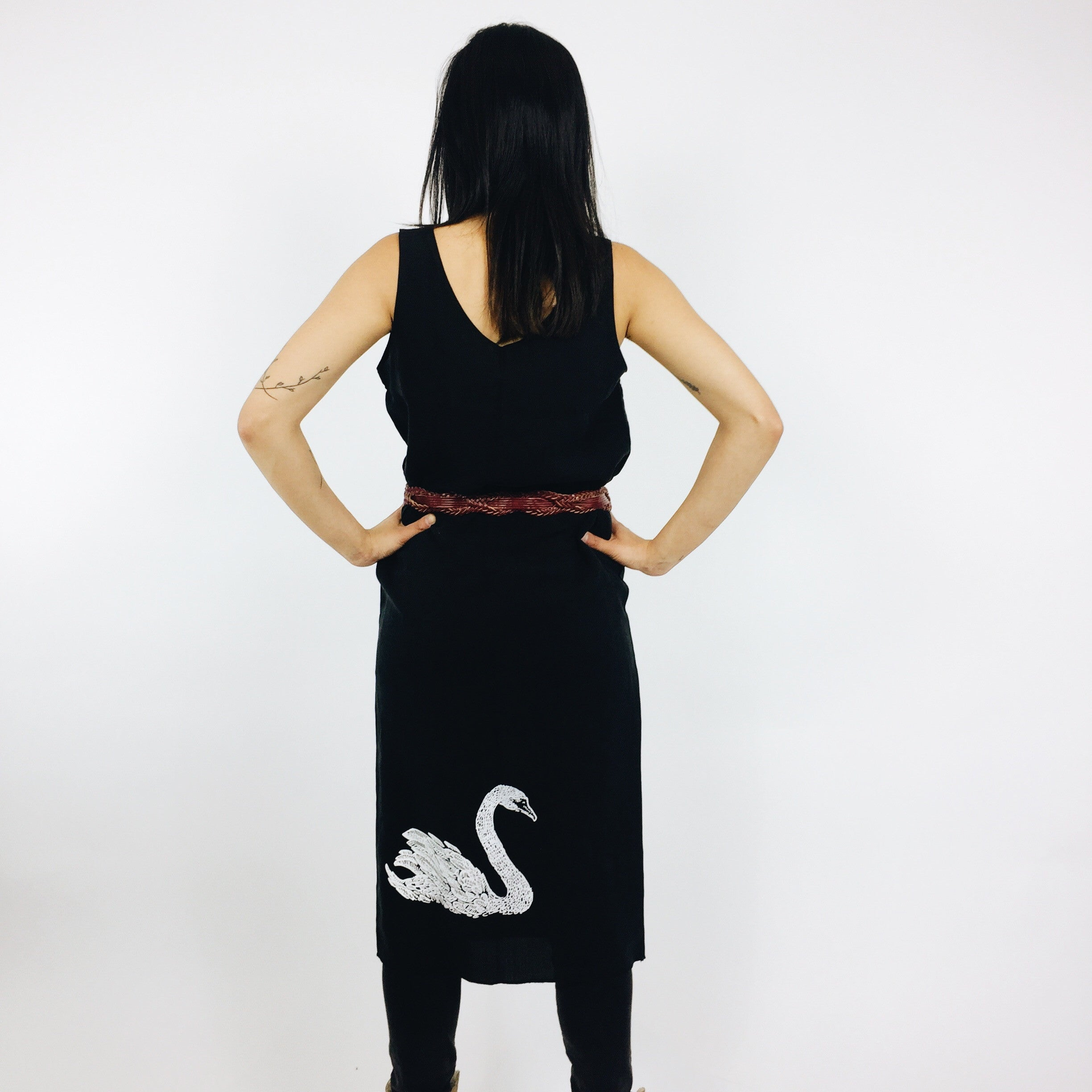 Swan - House Shift Dress