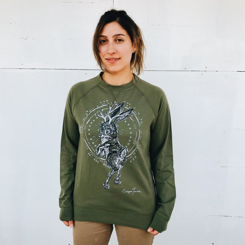 Light Pullover Sweatshirt- Berlin Bunnies