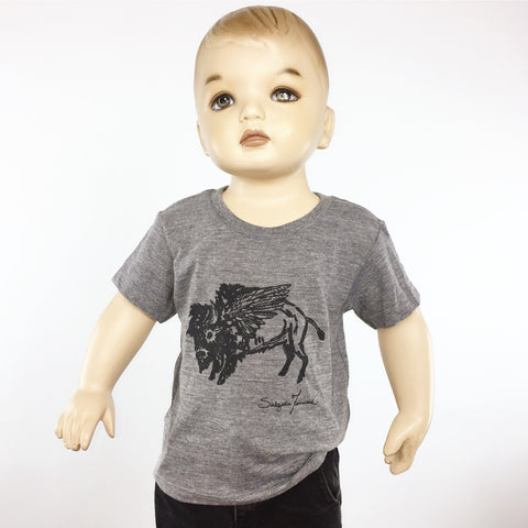 Kids Tee - Flying Buffalo