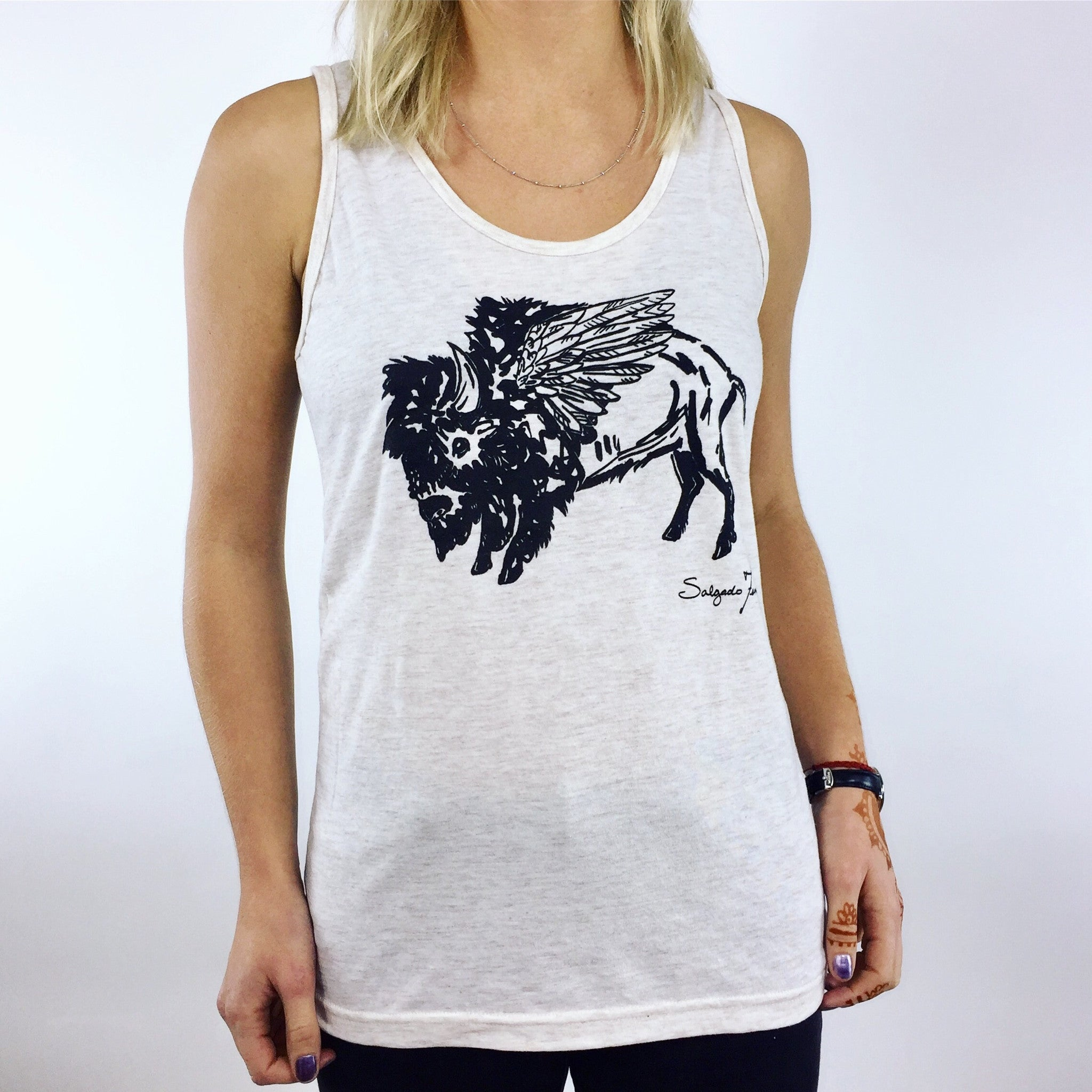 Unisex Tank - Flying Buffalo