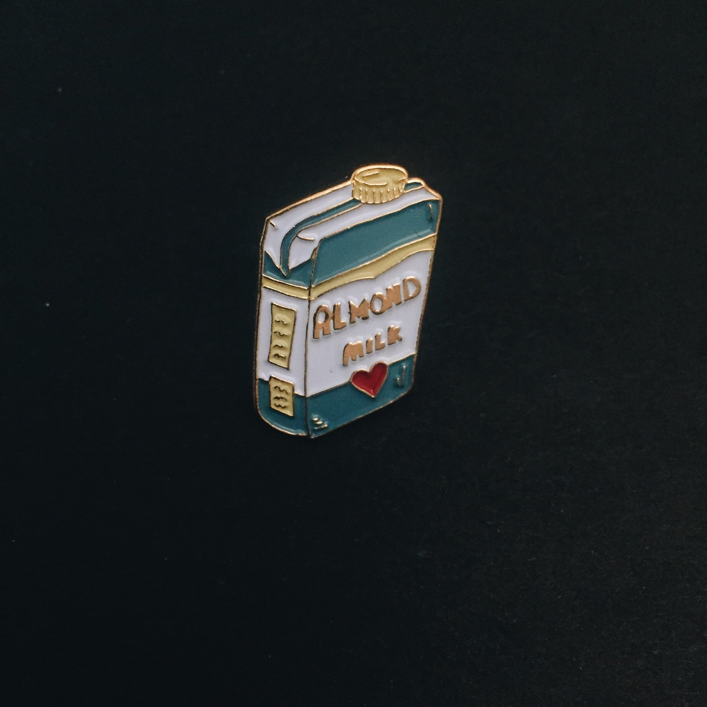 Enamel Pin - Almond Milk