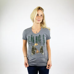 Ladies Crew Neck- S'more Bears!!!
