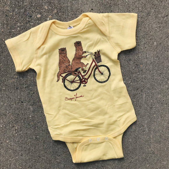Kids Onesie - Ya' Otter Ride