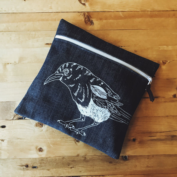 Pencil Case - Magpie Oh my!