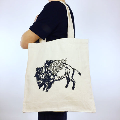 Travel Laundry Bag - Winged Buffalo