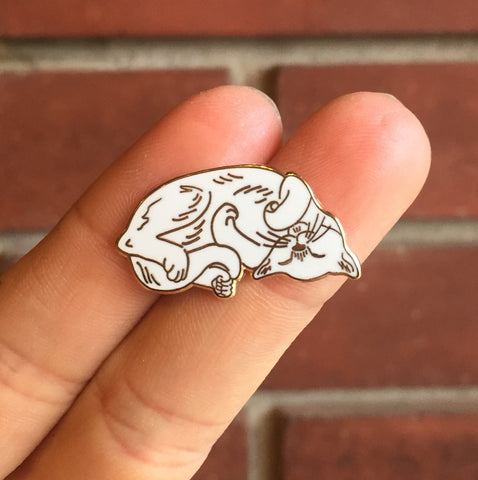 Enamel Pin - Dreaming Kitty