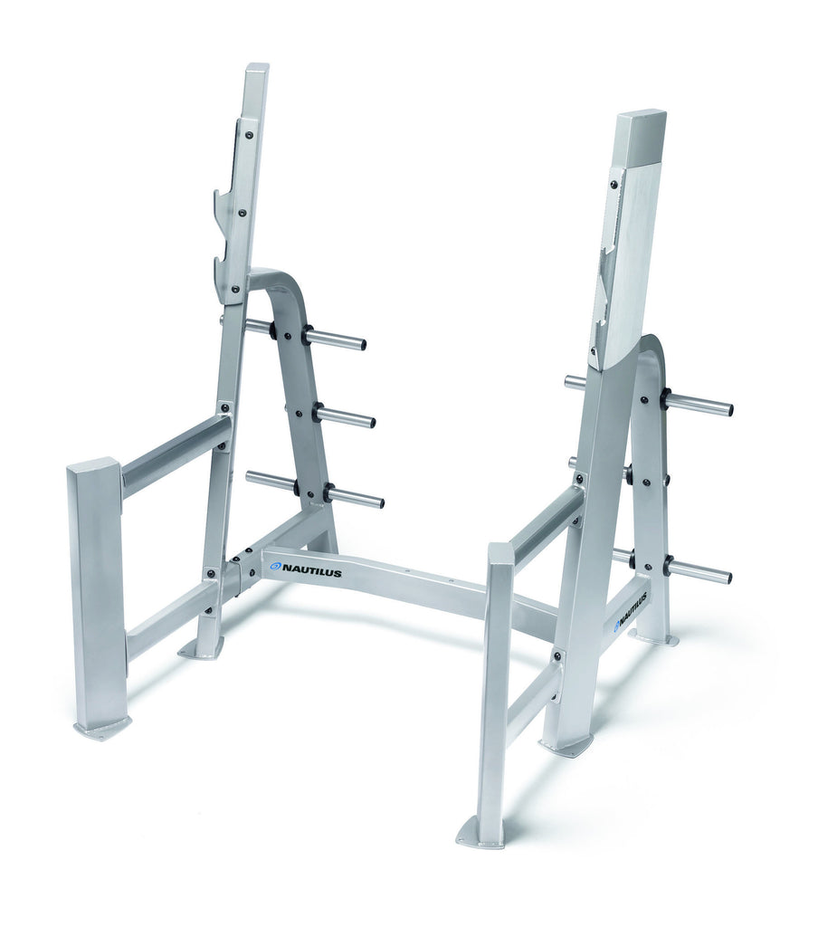 NAUTILUS FREEWEIGHTS SQUAT RACK (Second Hand)
