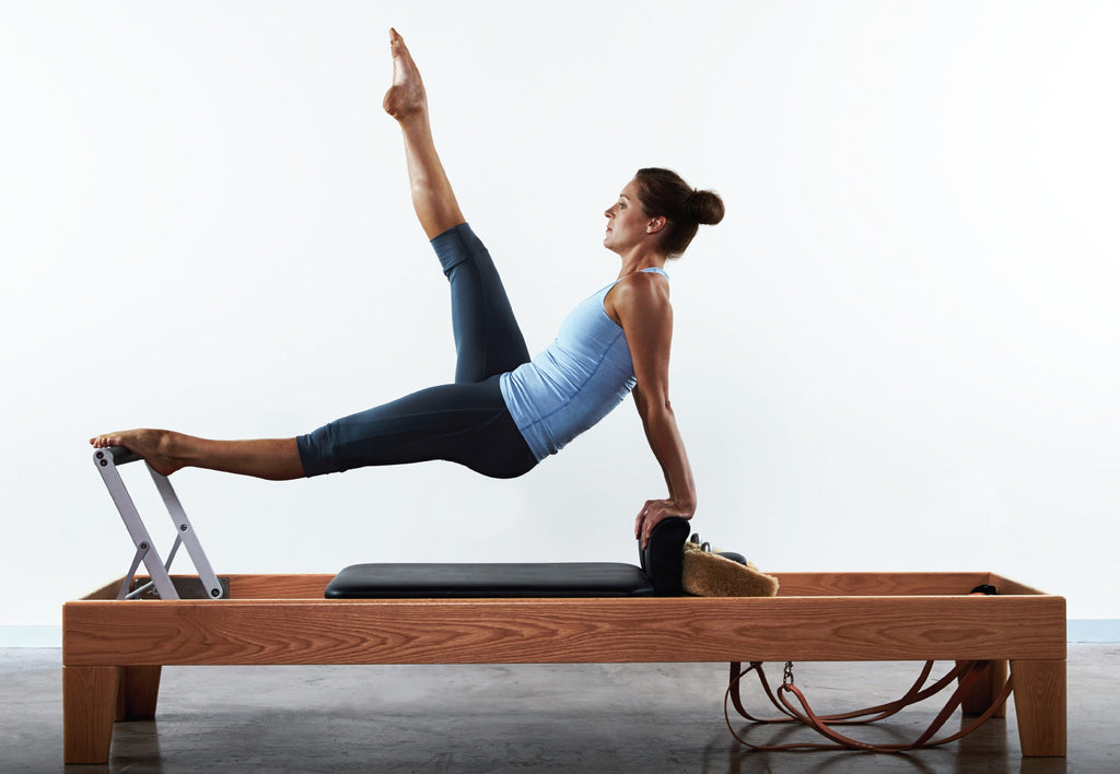 The AFINA™ Reformer 4 with leather straps (contact for quote)