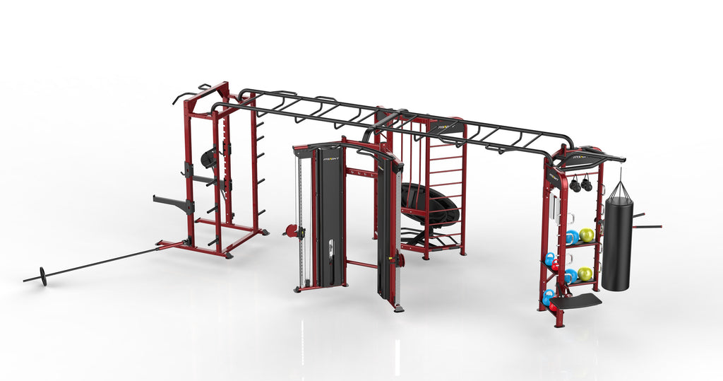 FZONEX	FUNCTIONAL ZONE X (STRETCH, BOX,REBOUND,POWER RACK)