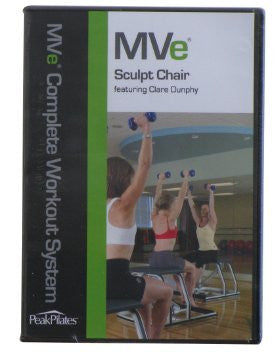 MVe® Sculpt Chair Workout DVD