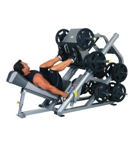 Nautilus XPLOAD 45 DEGREE LEG SLED P345LS