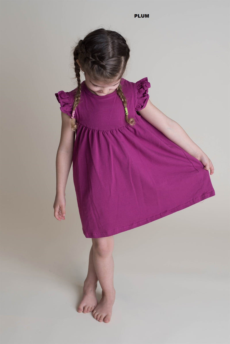 PLUM PEARL DRESS