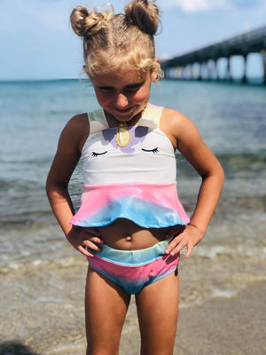 UNICORN SPARKLE SWIMSUIT M1