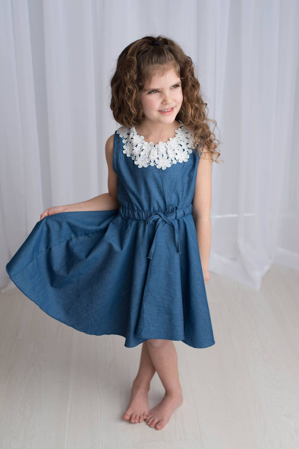 JOELLE DENIM DRESS