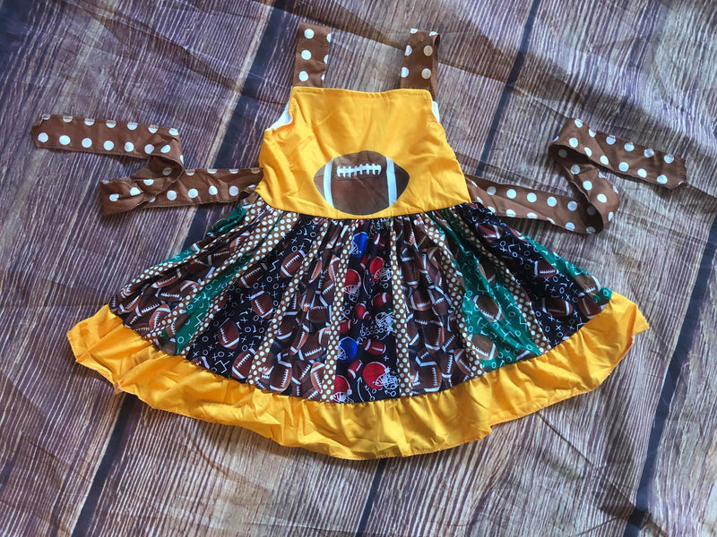 FOOTBALL TWIRL DRESS