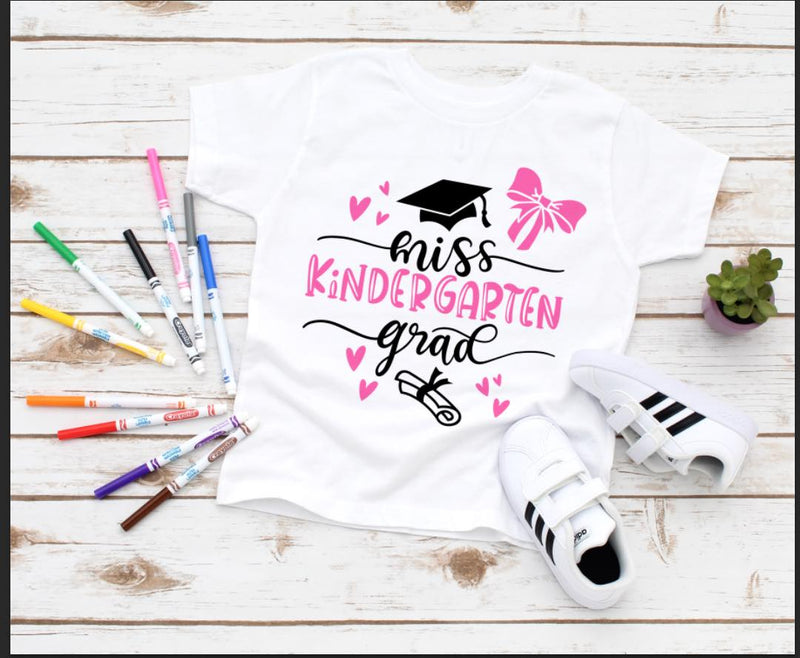 MISS KINDERGARTEN GRADUATION  T-SHIRTS