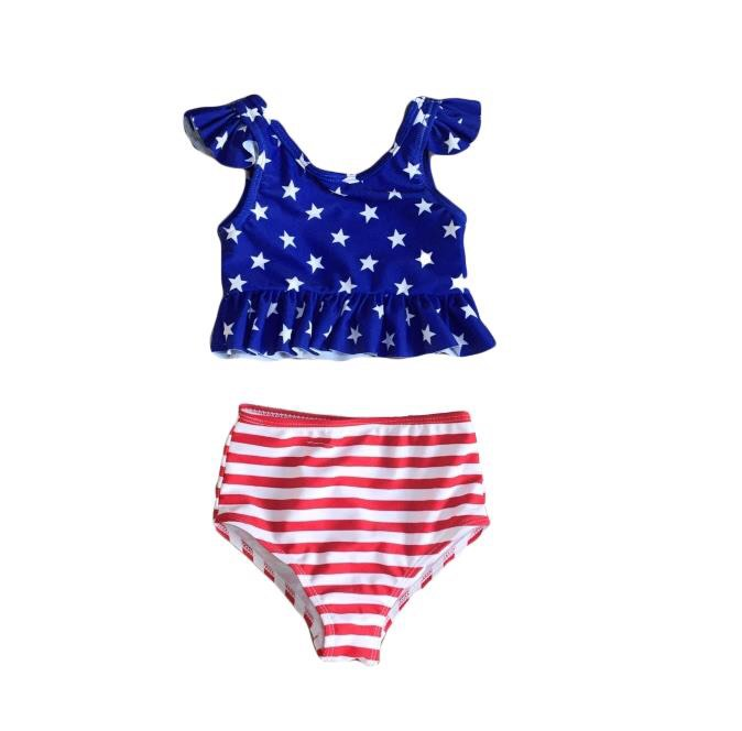 STRIPES & STARS SWIMSUIT