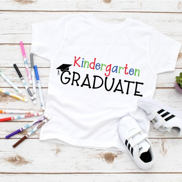 KINDERGARTEN GRADUATION  BOYS TSHIRT