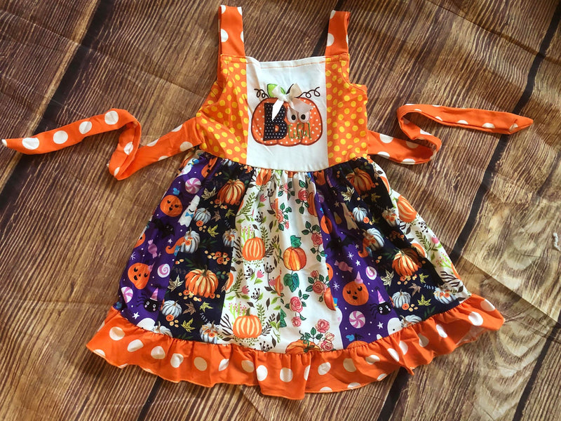 PUMPKINS TWIRL DRESS
