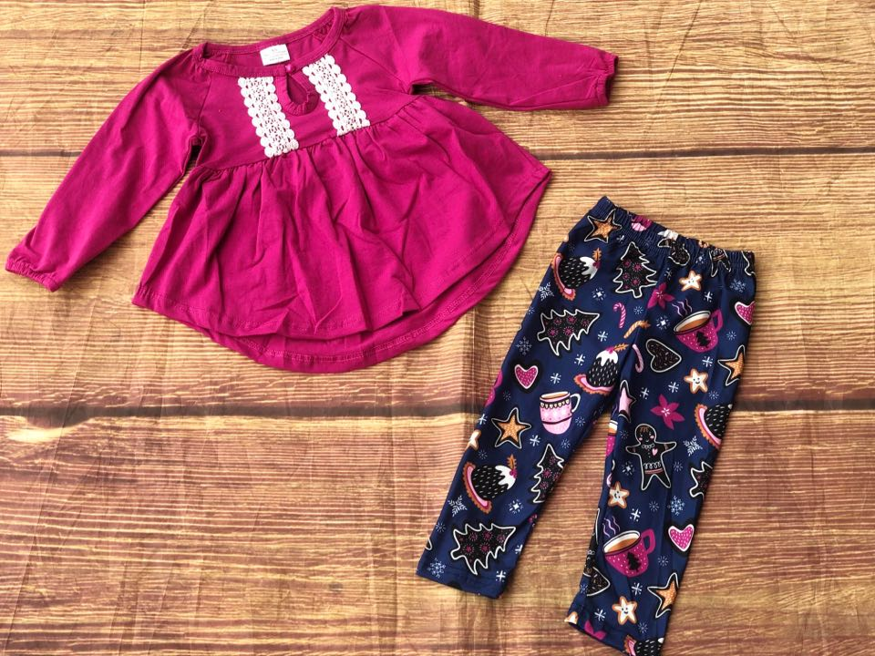 HOT COCOA LEGGINGS SET