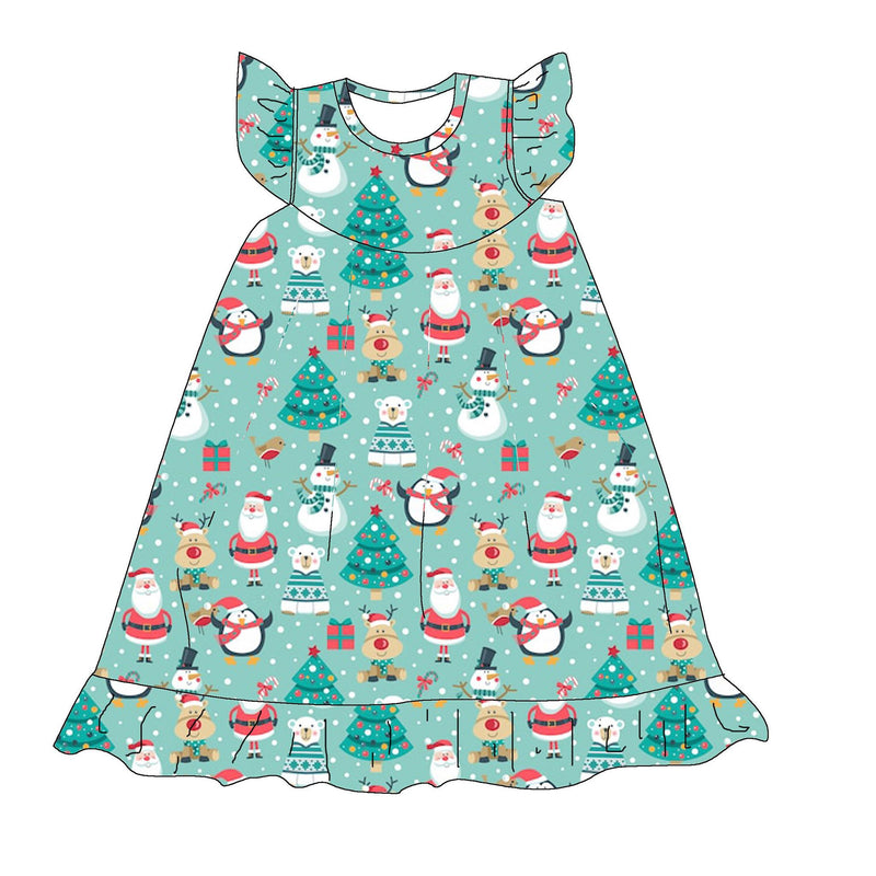 SANTA & FRIENDS NIGHTGOWN - 2ND PREORDER