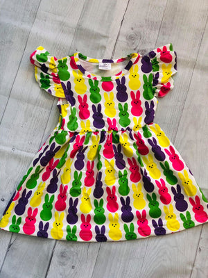BUNNY MILK SILK DRESS