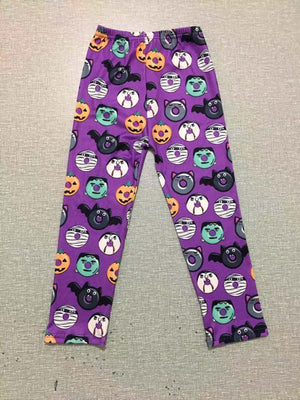 HALLOWEEN DONUTS MILK SILK LEGGINGS