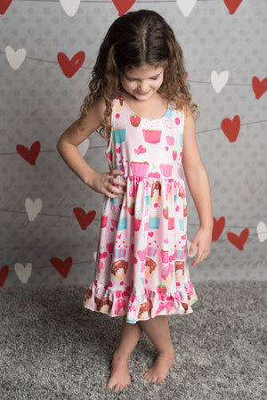 ADELAIDE VALENTINE TREATS DRESS