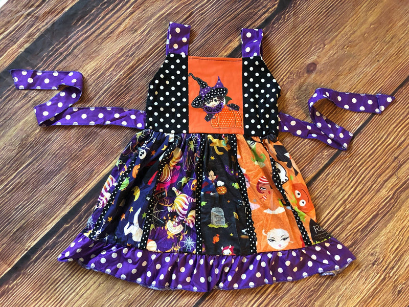 THE WITCH TWIRL DRESS