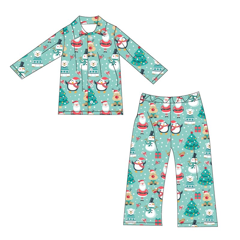 SANTA & FRIENDS PJS- 2ND PREORDER