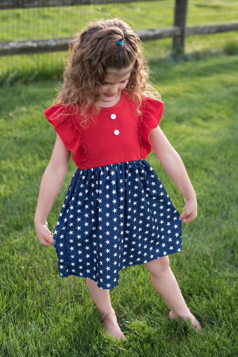 ELLIOTT PATRIOTIC DRESS