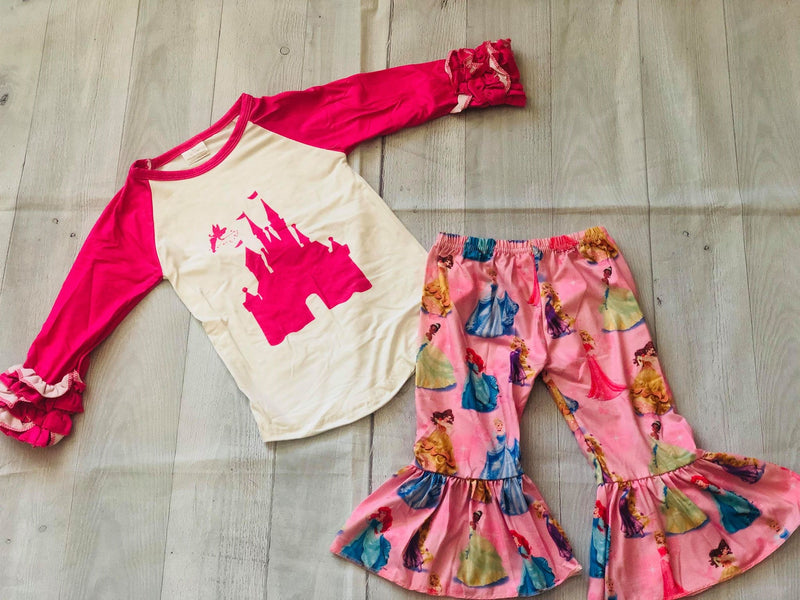 CASTLE TOP AND PANTS SET