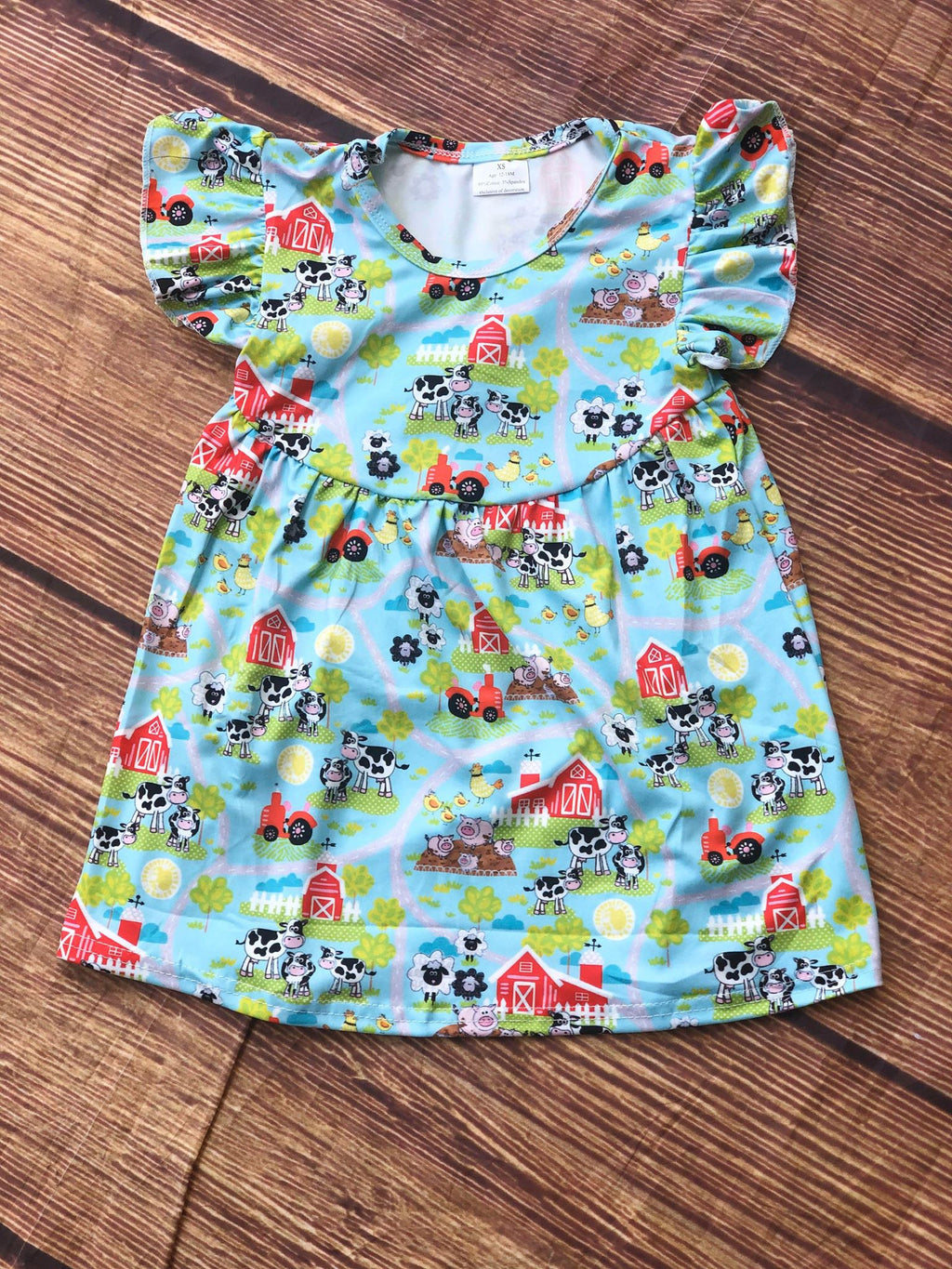 FARM ANIMAL PEARL DRESS