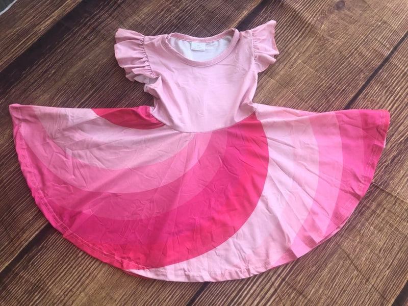 PRETTY IN PINK TWIRLY DRESS