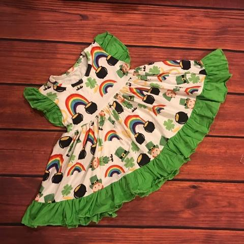 LEPRECHAUN FLUTTER DRESS