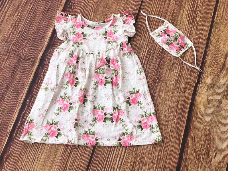 LYRIC FLORAL PEARL DRESS