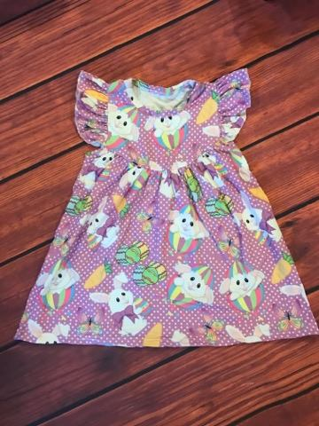 EASTER BUNNY PEARL DRESS