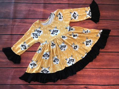 RACCOON MIA DRESS