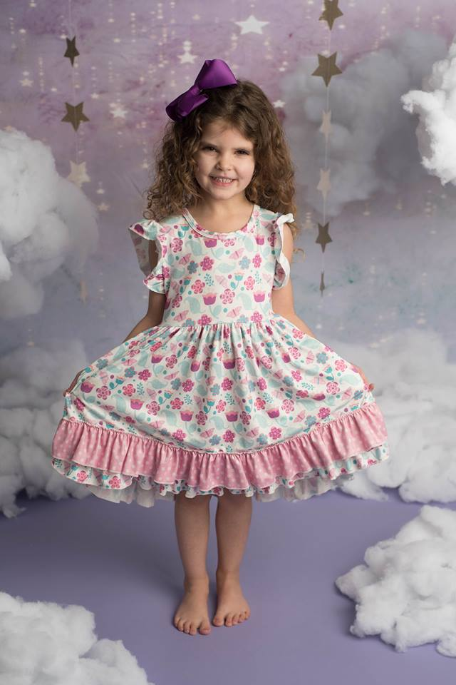 BUTTERFLY AUBREY DRESS