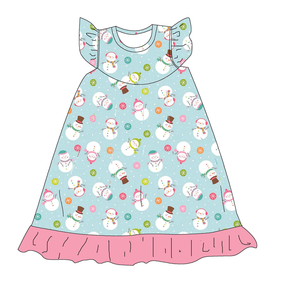 SNOWMAN NIGHTGOWN - 2ND PREORDER