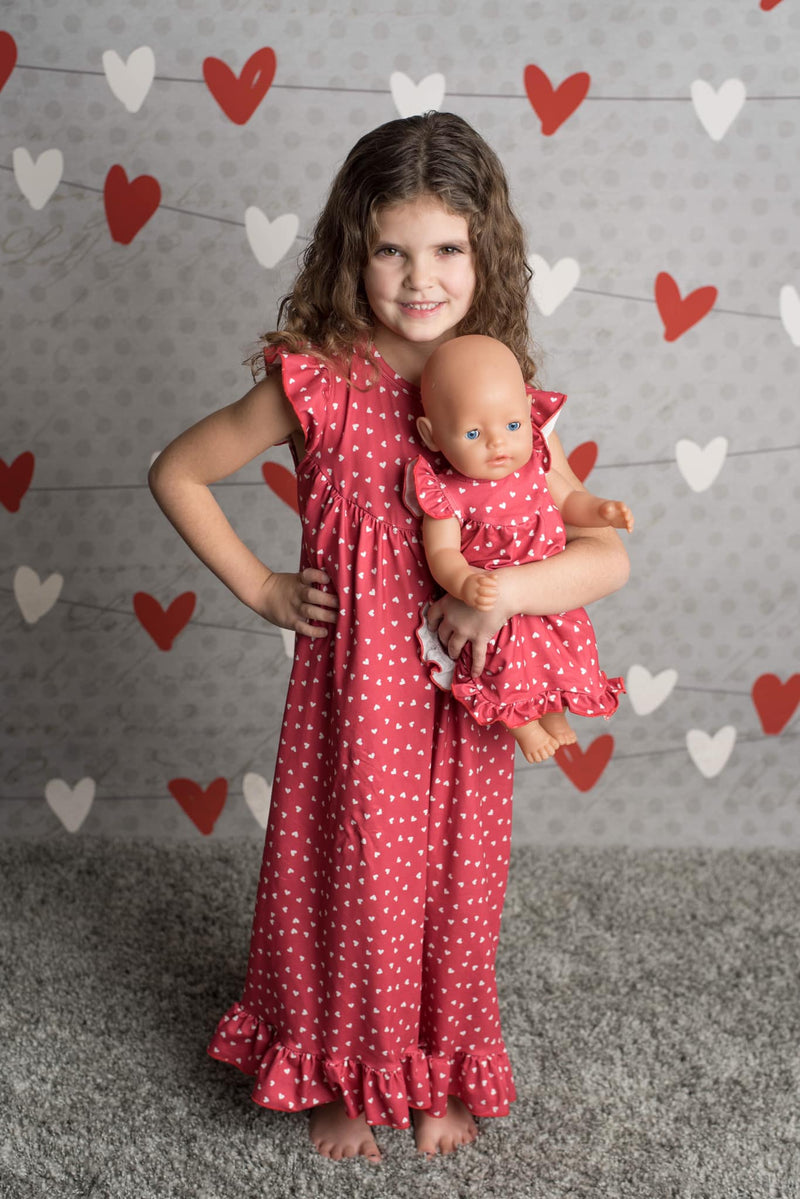 VALENTINE HEART NIGHTGOWN