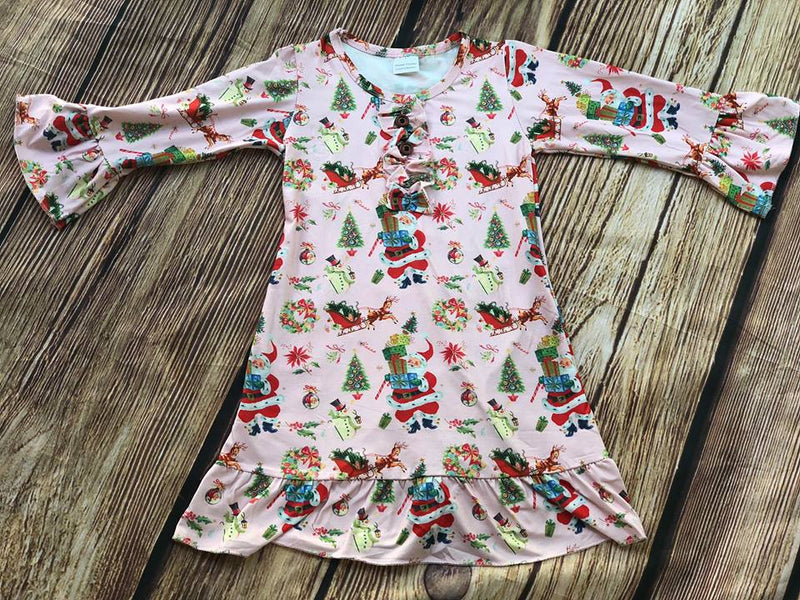CHRISTMAS VINTAGE NIGHTGOWN