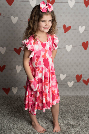MACKENZIE VALENTINE HEART DRESS