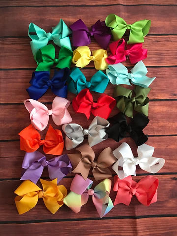 BOWS BUNDLES  6 INCH SET