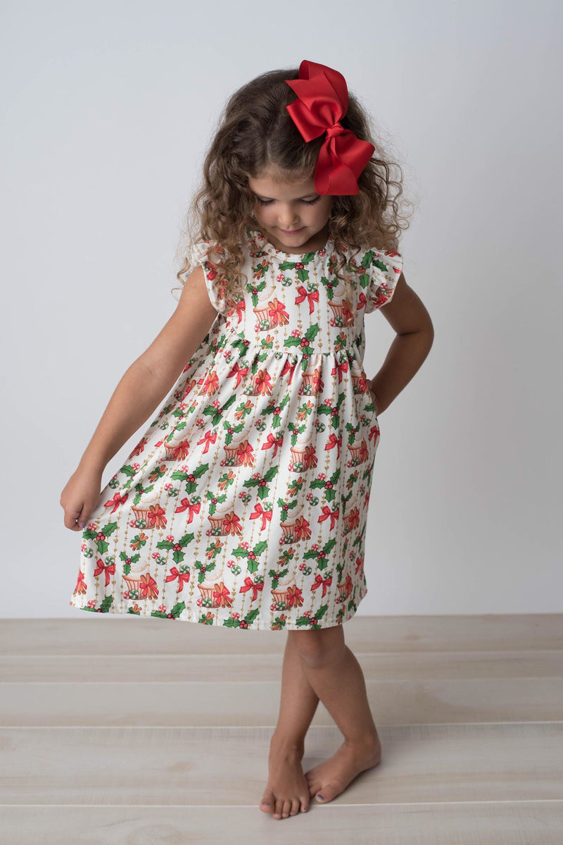 CUPCAKE HOLLY PEARL DRESS