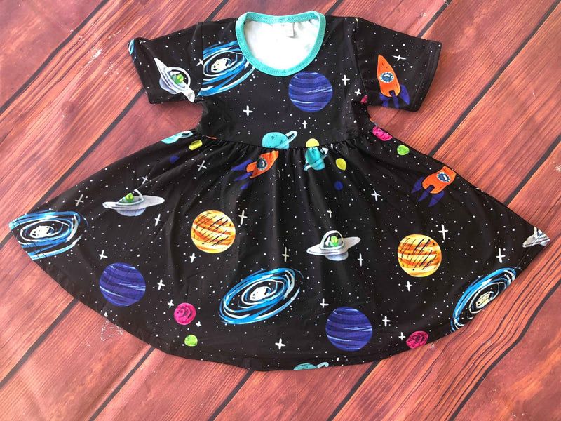 SPACE TWIRL DRESS
