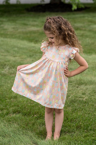 PINEAPPLE PEARL DRESS