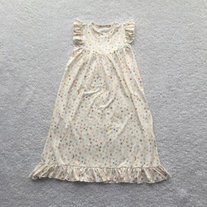 MOON & STAR NIGHTGOWN - IVORY/GOLD
